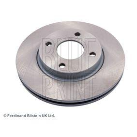 Brake Disc ADM54391 FIESTA 5 (JH, JD) 1.6 16V MY 2004