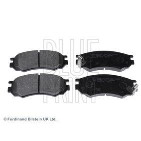 Bremsbelagsatz, Scheibenbremse Breite: 51,7mm, Dicke/Stärke 1: 15mm mit OEM-Nummer D1060-0N685