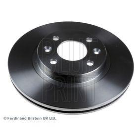 Bremsscheibe Bremsscheibendicke: 20,6mm, Ø: 259,0mm mit OEM-Nummer 77 01 206 339 SK