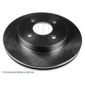 BLUE PRINT Brake disc kit Front Axle, Internally Vented, 37