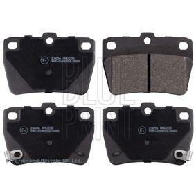 Brake Pad Set, disc brake ADT342122 RAV 4 II (CLA2_, XA2_, ZCA2_, ACA2_) 2.0 MY 2001