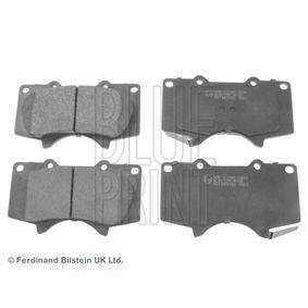 Bremsbelagsatz, Scheibenbremse Breite: 77,1mm, Dicke/Stärke 1: 16,9mm mit OEM-Nummer 0446533250