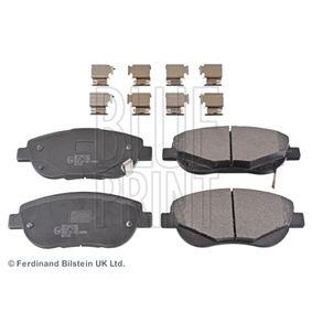 Bremsbelagsatz, Scheibenbremse Breite: 61,5mm, Dicke/Stärke 1: 18mm mit OEM-Nummer 04465-05260