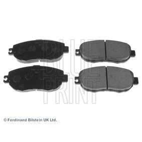 Bremsbelagsatz, Scheibenbremse Breite: 63,9mm, Dicke/Stärke 1: 17mm mit OEM-Nummer 0446550110
