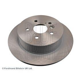 Brake Disc ADT343144 RAV 4 II (CLA2_, XA2_, ZCA2_, ACA2_) 2.0 D 4WD (CLA20_, CLA21_) MY 2004