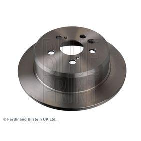 Disque de frein Épaisseur du disque de frein: 10mm, Nbre de trous: 5, Ø: 269,0mm avec OEM numéro 42431 20 200