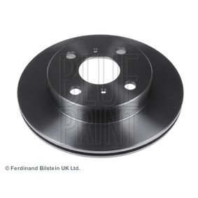 BLUE PRINT Спирачни дискове предна ос, вътрешновентилиран, с покритие