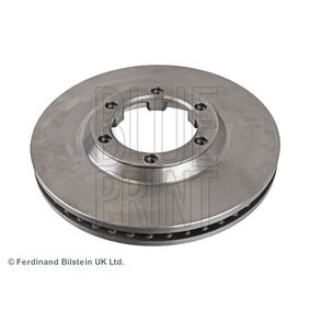 BLUE PRINT Brake disc kit Front Axle, Internally Vented, Coated