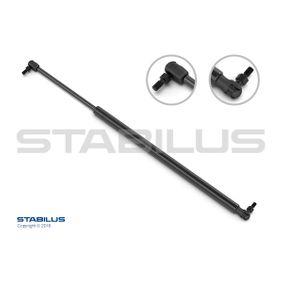 Heckklappendämpfer / Gasfeder Länge: 465mm, Hub: 180mm mit OEM-Nummer 74820 SR3 003