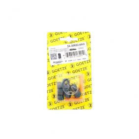 GOETZE Dichtungssatz, Ventilschaft 24-30653-85/0 für AUDI A3 (8P1) 1.9 TDI ab Baujahr 05.2003, 105 PS