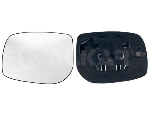 ALKAR  6401267 Spiegelglas, Außenspiegel