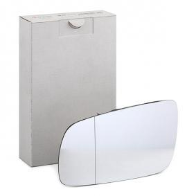 Mirror Glass, outside mirror with OEM Number 1U1857521B