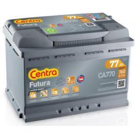 Starterbatterie CA770 CRAFTER 30-50 Kasten (2E_) 2.5 TDI Bj 2009