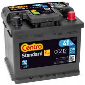 CENTRA Starterbatterie B13 , 41 Ah , 12 V , LB1 , 370 A , Bleiakkumulator
