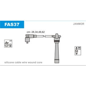 Ignition Cable Kit FAS37 PUNTO (188) 1.2 16V 80 MY 2002