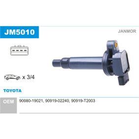 Zündspule mit OEM-Nummer 90919 T2003