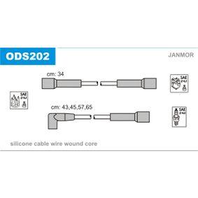 Cables de Encendido OPEL CORSA A TR (91_, 92_, 96_, 97_) 1.2 S de Año 09.1982 55 CV: Juego de cables de encendido (ODS202) para de JANMOR