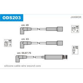 Cables de Encendido OPEL CORSA A TR (91_, 92_, 96_, 97_) 1.2 S de Año 09.1982 55 CV: Juego de cables de encendido (ODS203) para de JANMOR