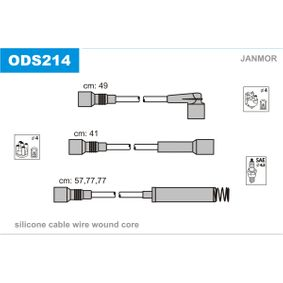 Ignition Cable Kit Article № ODS214 £ 140,00