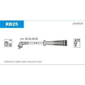 JANMOR  RB25 Zündleitungssatz Silikon, Länge: 340mm, Länge 3: 380mm, Länge 4: 540mm