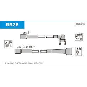 JANMOR  RB28 Zündleitungssatz Silikon
