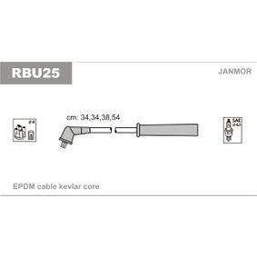 JANMOR  RBU25 Zündleitungssatz EPDM (Ethylen-Propylen-Dien-Kautschuk)