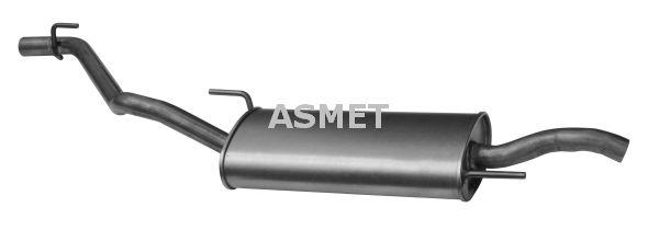 Image of ASMET Silenziatore posteriore 5907804503469