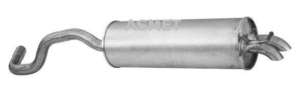 Image of ASMET Silenziatore posteriore 5907804503674