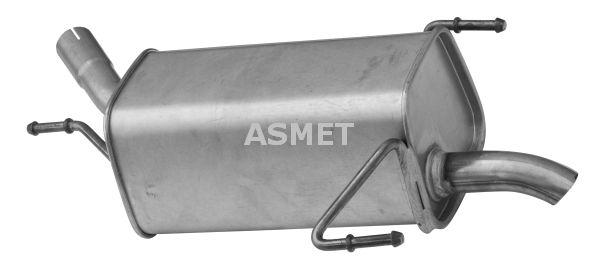 Image of ASMET Silenziatore posteriore 5907804595327