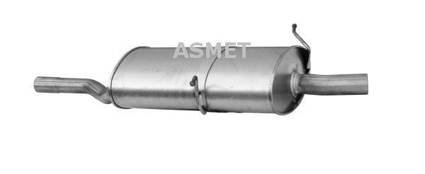 Image of ASMET Silenziatore posteriore 5907804512287