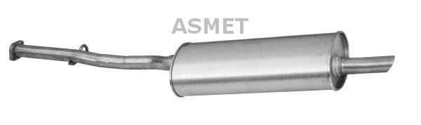 Image of ASMET Silenziatore posteriore 5907804512348