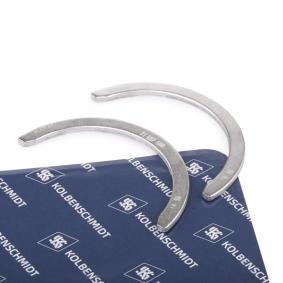 Kurbelwellenscheiben für VW GOLF IV (1J1) 1.6 100 PS ab Baujahr 08.1997 KOLBENSCHMIDT Distanzscheibe, Kurbelwelle (79221600) für