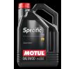 MOTUL Olej silnikowy SPECIFIC, 0720, 5W-30, 5l Artykuł №: 102209