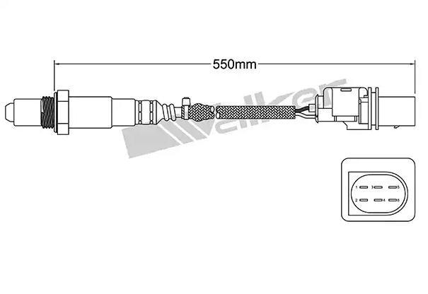 Lambda Sensor ULS-112 VEGAZ ULS-112 in Original Qualität