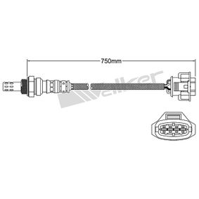 Lambdasonde Kabellänge: 741mm mit OEM-Nummer 8 55 356