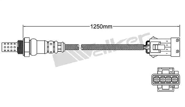 Lambda Sensor ULS-189 VEGAZ ULS-189 in Original Qualität