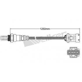 Lambdasonde Kabellänge: 650mm mit OEM-Nummer 1628 HQ
