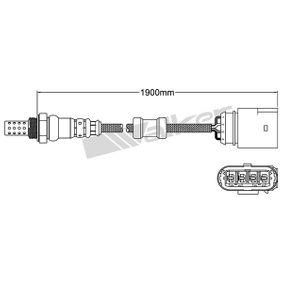 Lambdasonde Kabellänge: 1590mm mit OEM-Nummer 030906262A