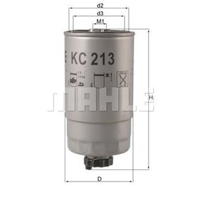 Kraftstofffilter Art. Nr. KC 213 120,00€