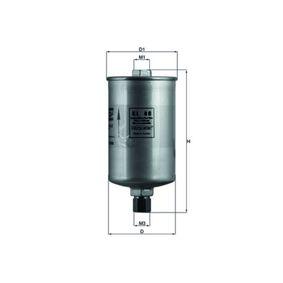 Filtro carburante Alt.: 171,5mm con OEM Numero 811-133-511B