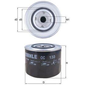 Ölfilter Ø: 107,5mm, Außendurchmesser 2: 72mm, Ø: 107,5mm, Innendurchmesser 2: 62mm, Innendurchmesser 2: 62mm, Höhe: 98mm mit OEM-Nummer 5 018 356
