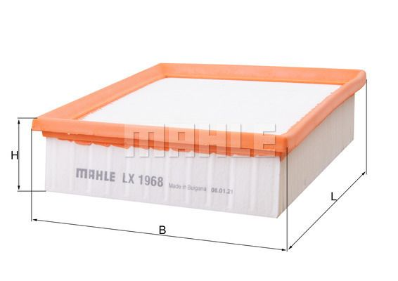 LX 1968 MAHLE ORIGINAL from manufacturer up to - 20% off!