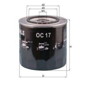 Ölfilter Ø: 107,5mm, Ø: 107,5mm, Höhe: 113mm mit OEM-Nummer 000 393 862 6
