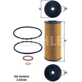 Ölfilter Ø: 83,5mm, Ø: 83,5mm, Innendurchmesser 2: 23mm, Innendurchmesser 2: 23mm, Höhe: 198mm, Höhe 1: 192mm mit OEM-Nummer A 4411800209