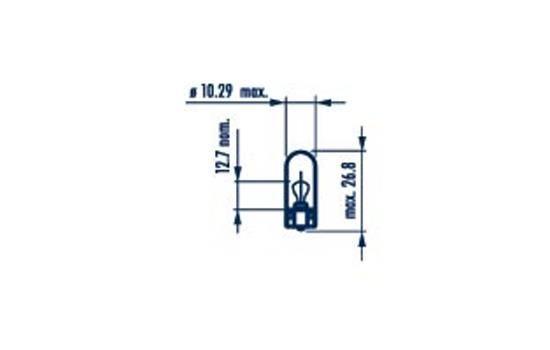 NARVA  17197 Bulb, indicator