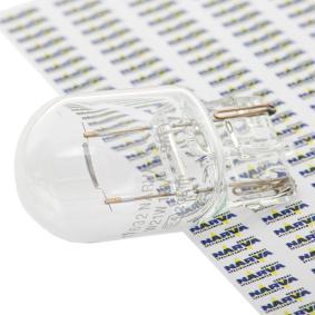 Bulb, indicator W21W, W3x16d, 12V, 21W 17632 VW GOLF, PASSAT