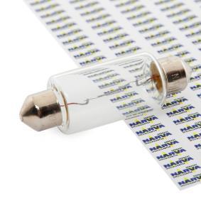 Крушка с нагреваема жичка, светлини на рег. номер C21W, SV8,5, 12волт, 21ват 17634 VW LT 28-35 II автобус (2DB, 2DE, 2DK)