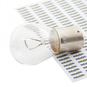 Bulb, indicator P21W, BA15s, 12V, 21W 17635