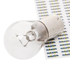 Bulb, indicator P21W, BA15s, 24V, 21W 17643