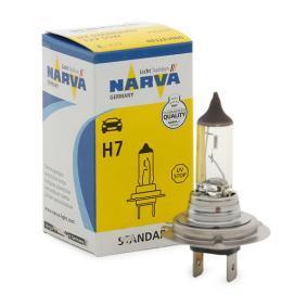 Fernscheinwerfer Glühlampe VW PASSAT Variant (3B6) 1.9 TDI 130 PS ab 11.2000 NARVA Glühlampe, Fernscheinwerfer (48328) für